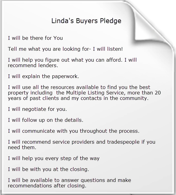 Buyer Pledge